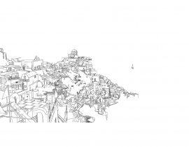 Santorini canvas | 09.28.2020