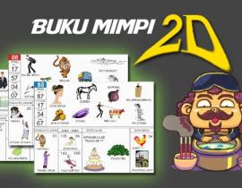 Buku mimpi 2D abjad bergambar
