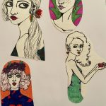 Collage Drawings 2