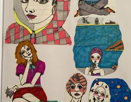 Collage Drawings 6
