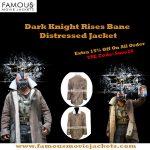 The Tom Hardy The Dark Knight Rises Distressed Bane Coat
