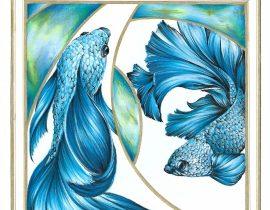Acquamarine fishes