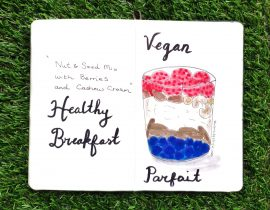 Vegan parfait