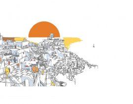 Santorini canvas | 10.06.2020