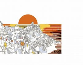 Santorini canvas | 10.08.2020