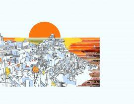 Santorini canvas | 10.09.2020