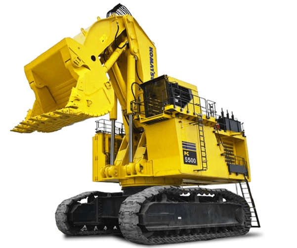 7 new excavator for new projects