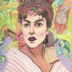 Self Frida portrait