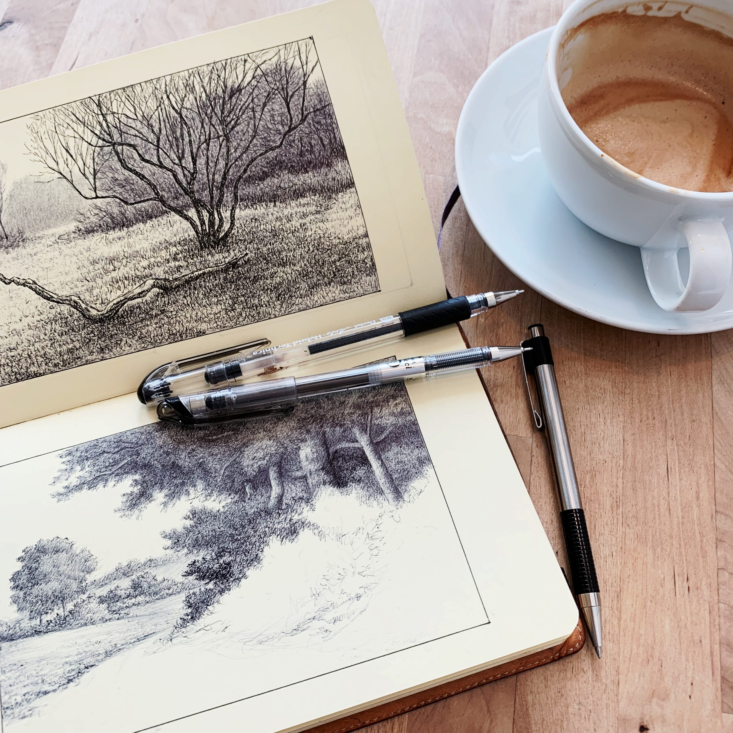 Coffee and Ink (Astoria Coffee)