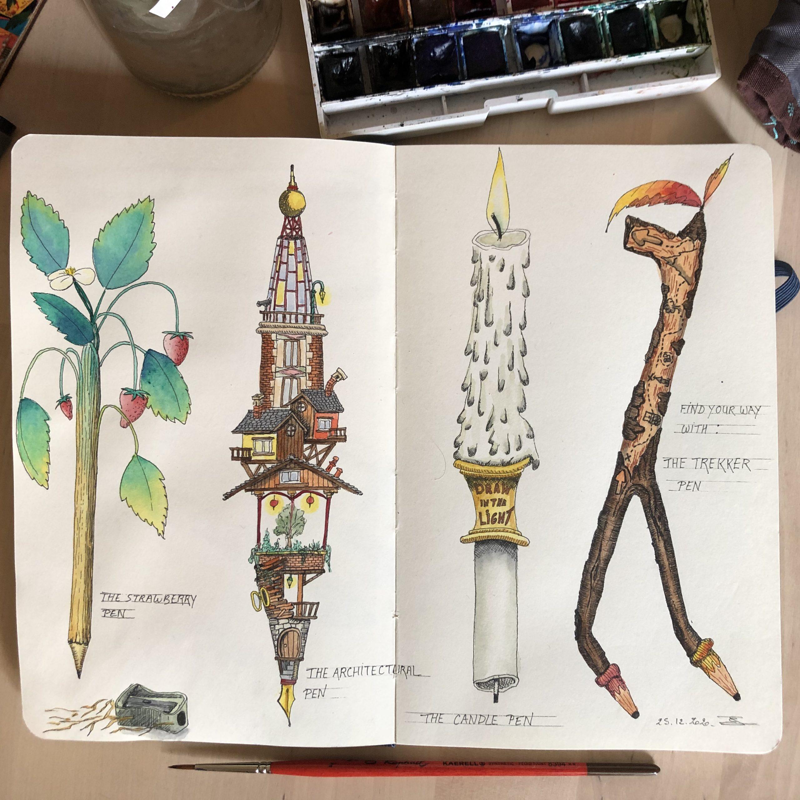 Crazy pens !