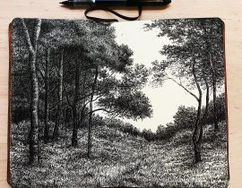 Two page landscape