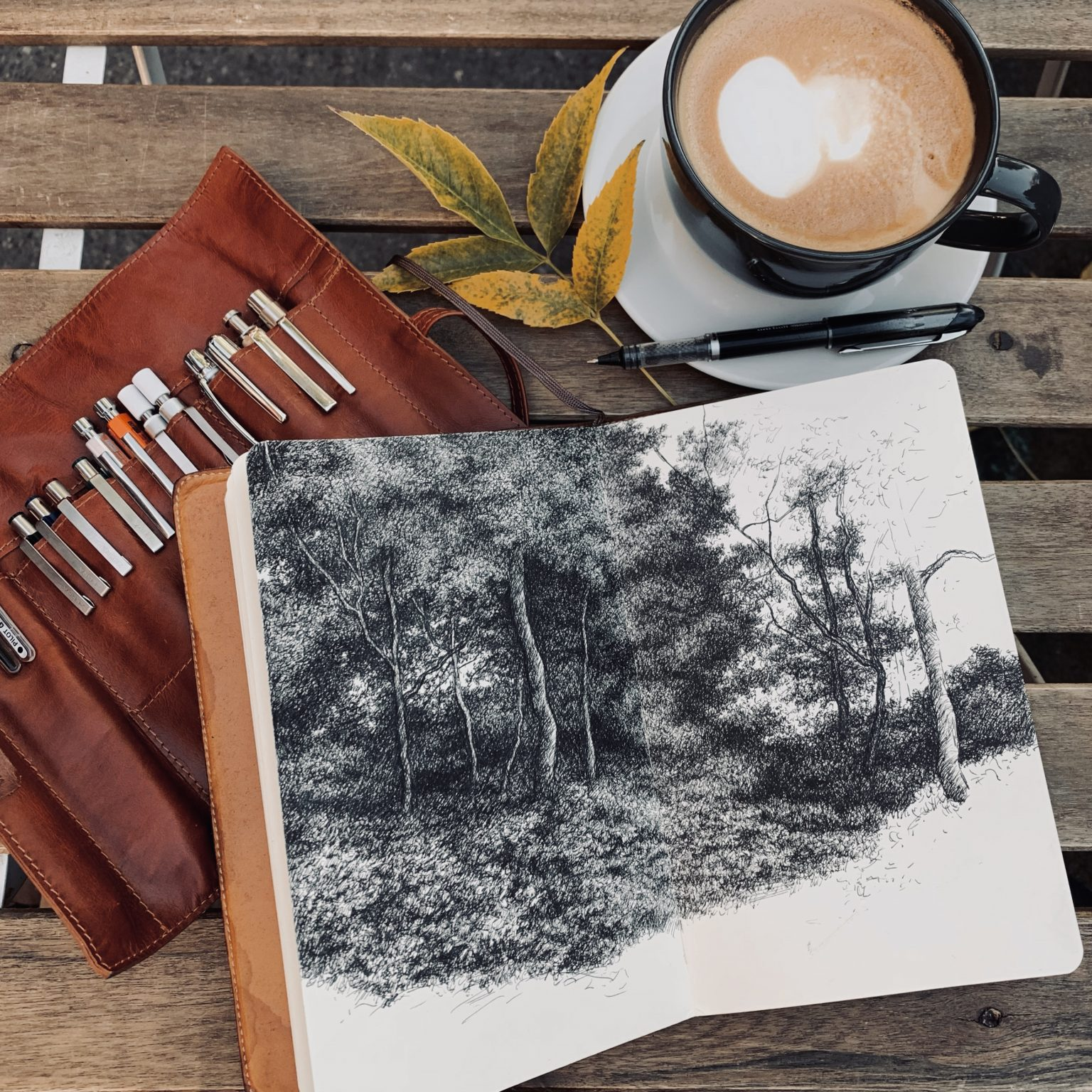 Coffee and Ink 57DB1D43-4879-4207-8813-F97B954109F36CF2A981-F184-4AED-9192-FE5E7AD2A44653D8ADD2-C751