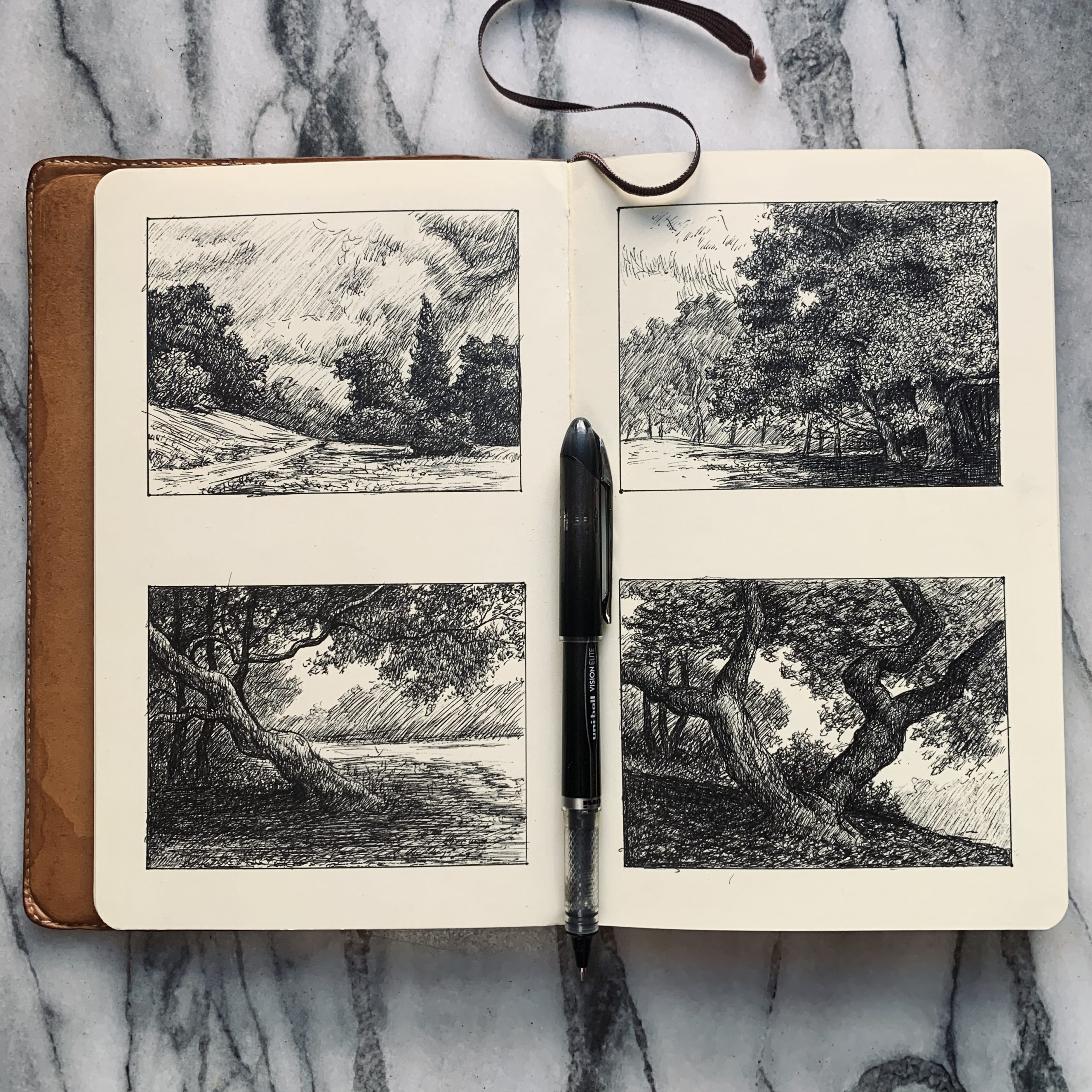 Thumbnail sketchers