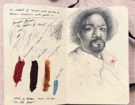 Pencil copy of Velazquez