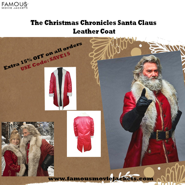 The Christmas Chronicles Santa Claus Leather Coat