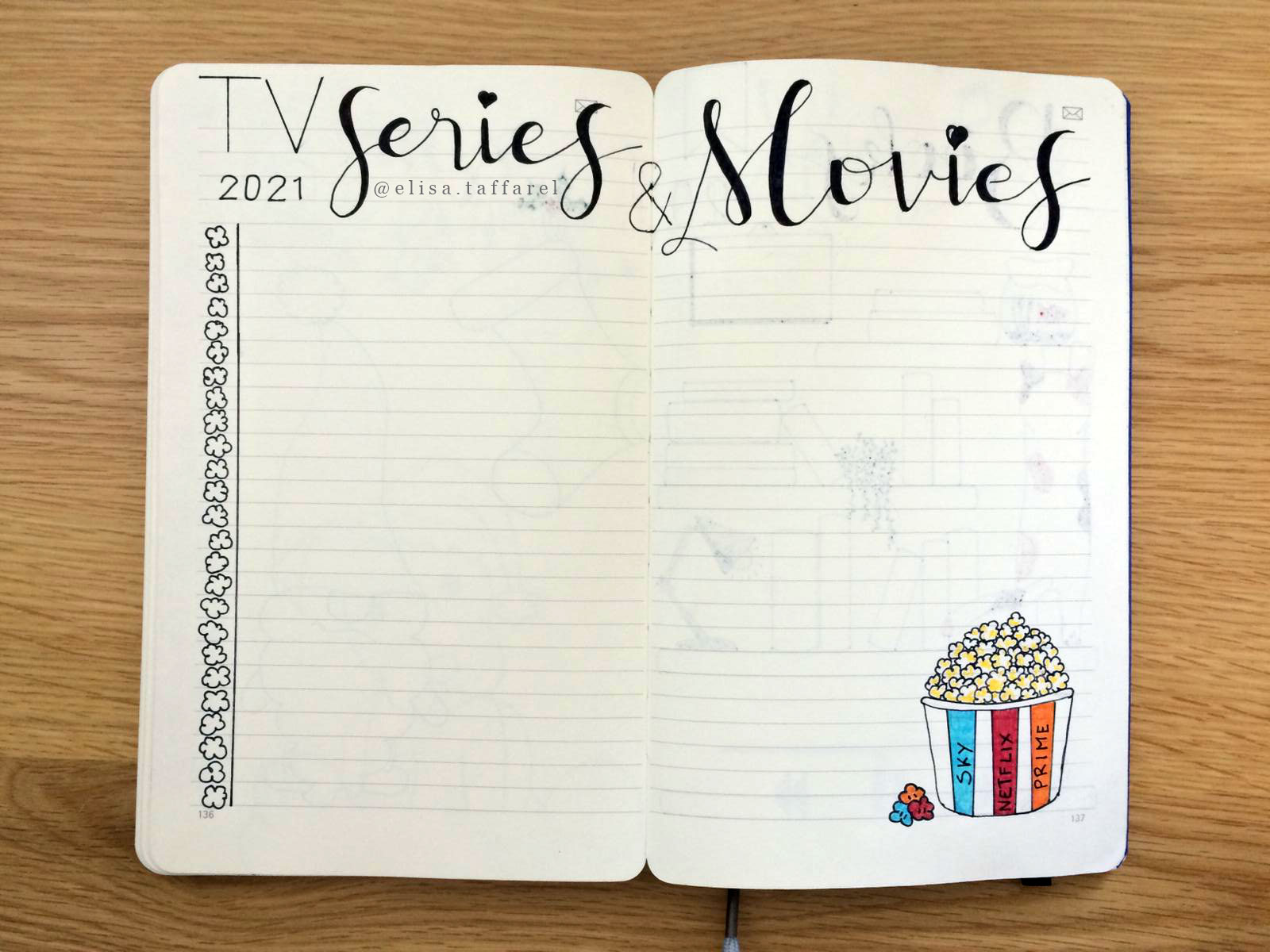 SMART PLANNER 2021 – TV Serires and Movies