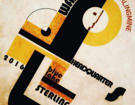 study on Bauhaus poster
