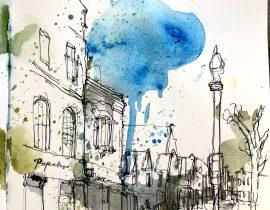 Blue sky Paperchase