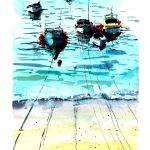Boats watercolor series… #1