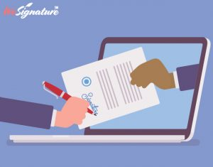 An online signature emerges from a legal understanding of its definition. It is pretty much equivale