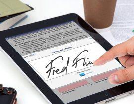 Electronic Signature PDF – wesignature
