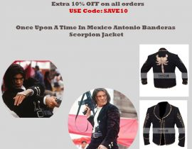 Once Upon A Time In Mexico Antonio Banderas Scorpion Jacket
