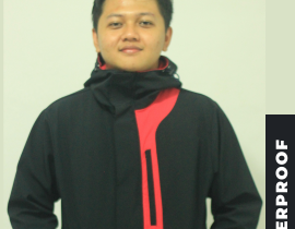 Jaket anti air buatan zeebrug