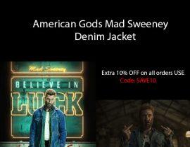 American Gods Mad Sweeney Denim Jacket