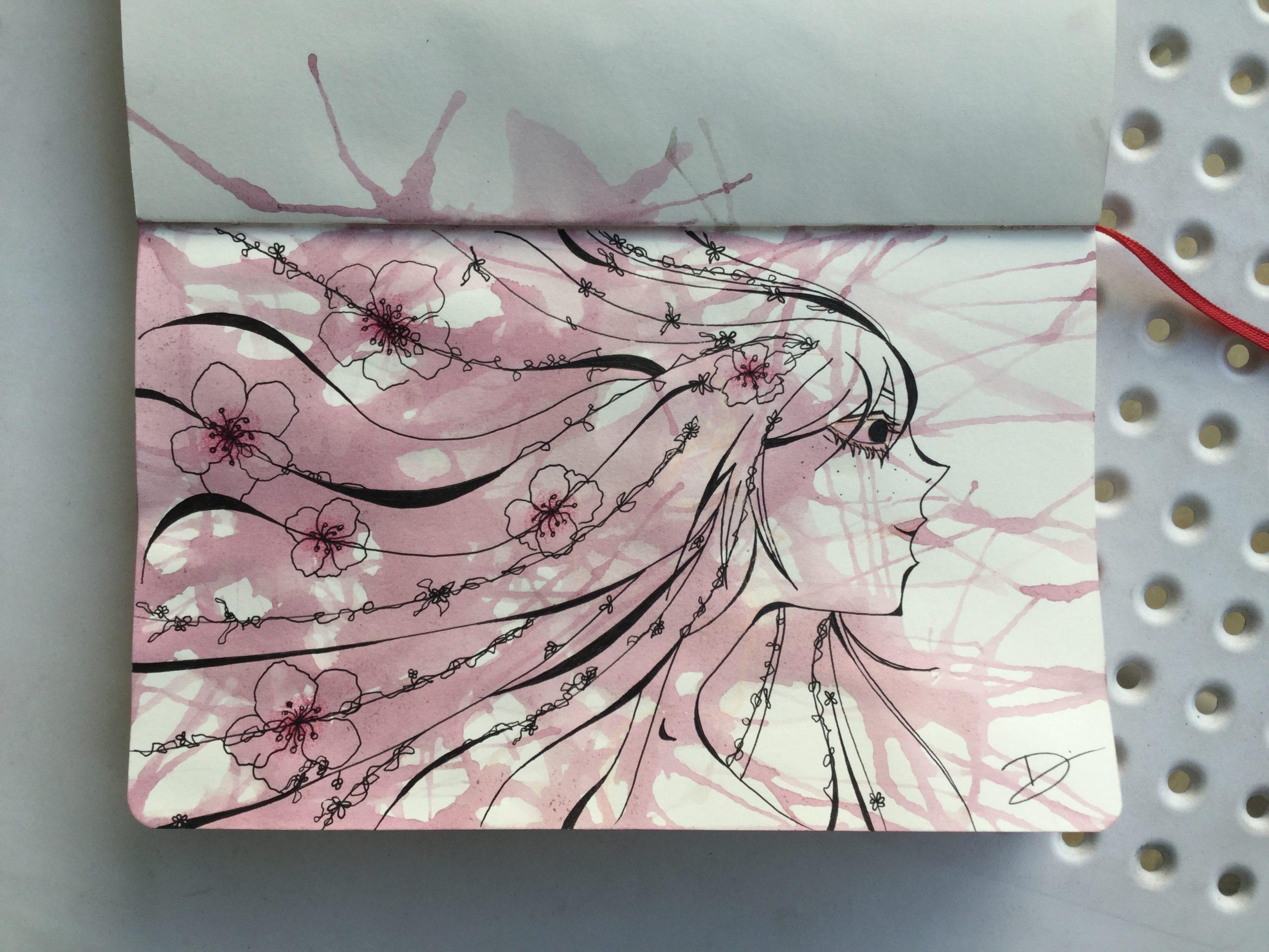 Sakura goddess