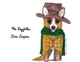 Cooper the corgi