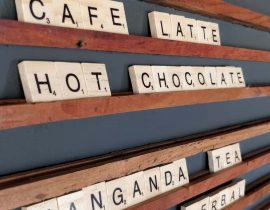 Architect coffee bar menu