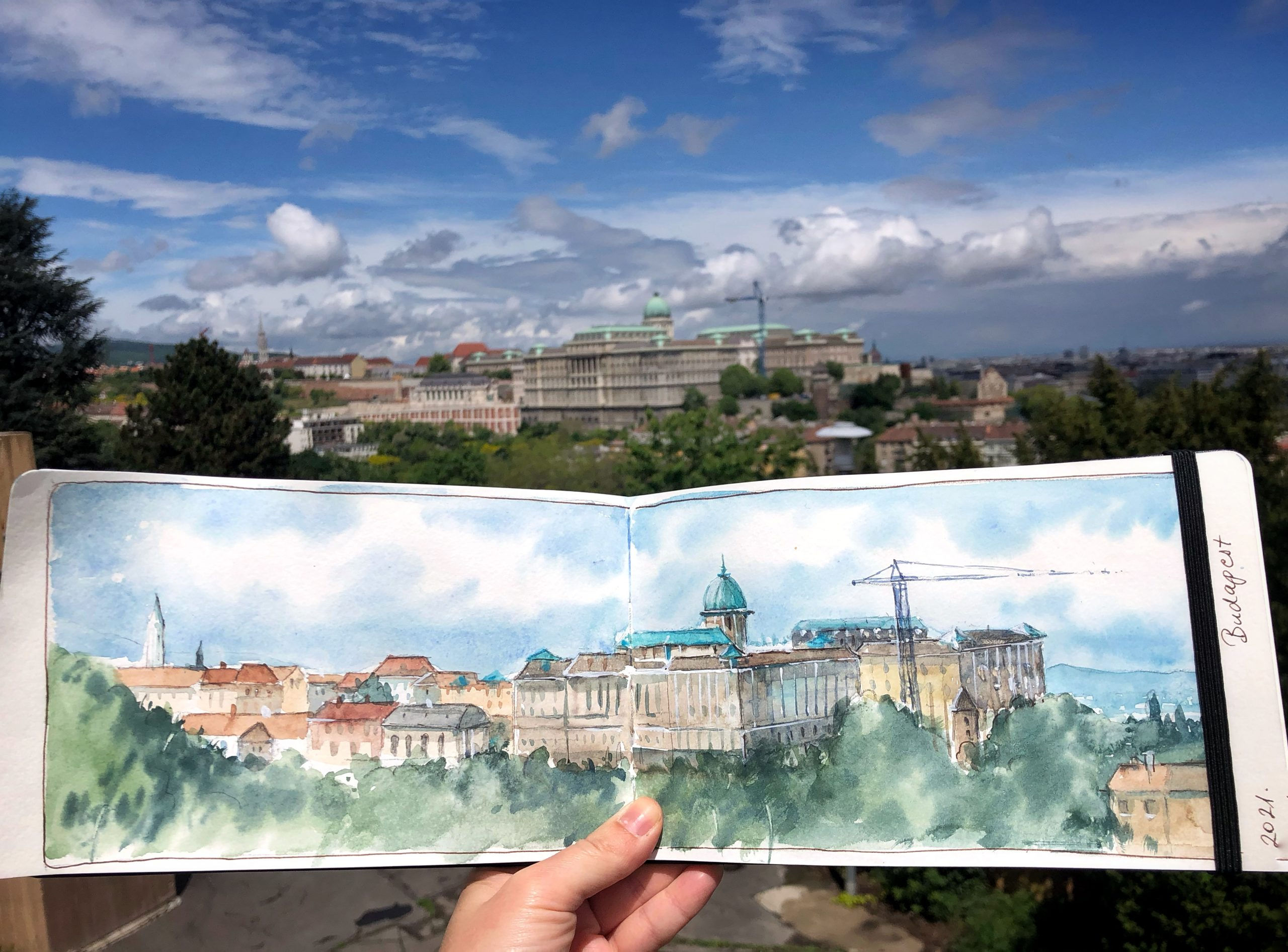 Cityscape from Budapest