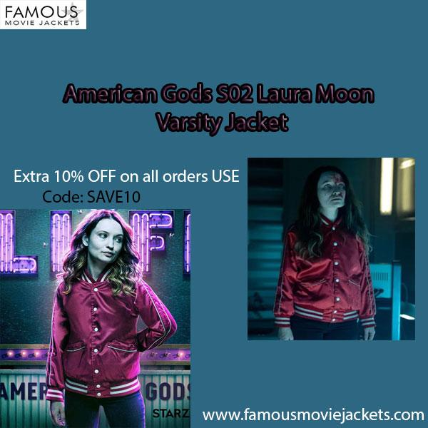American Gods S02 Laura Moon Varsity Jacket