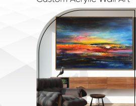 Custom Acrylic Wall Art