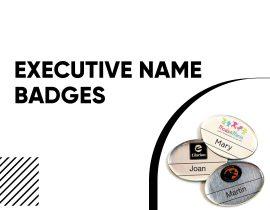 Executive Name Badges