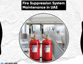 Fire Suppression System Maintenance in UAE