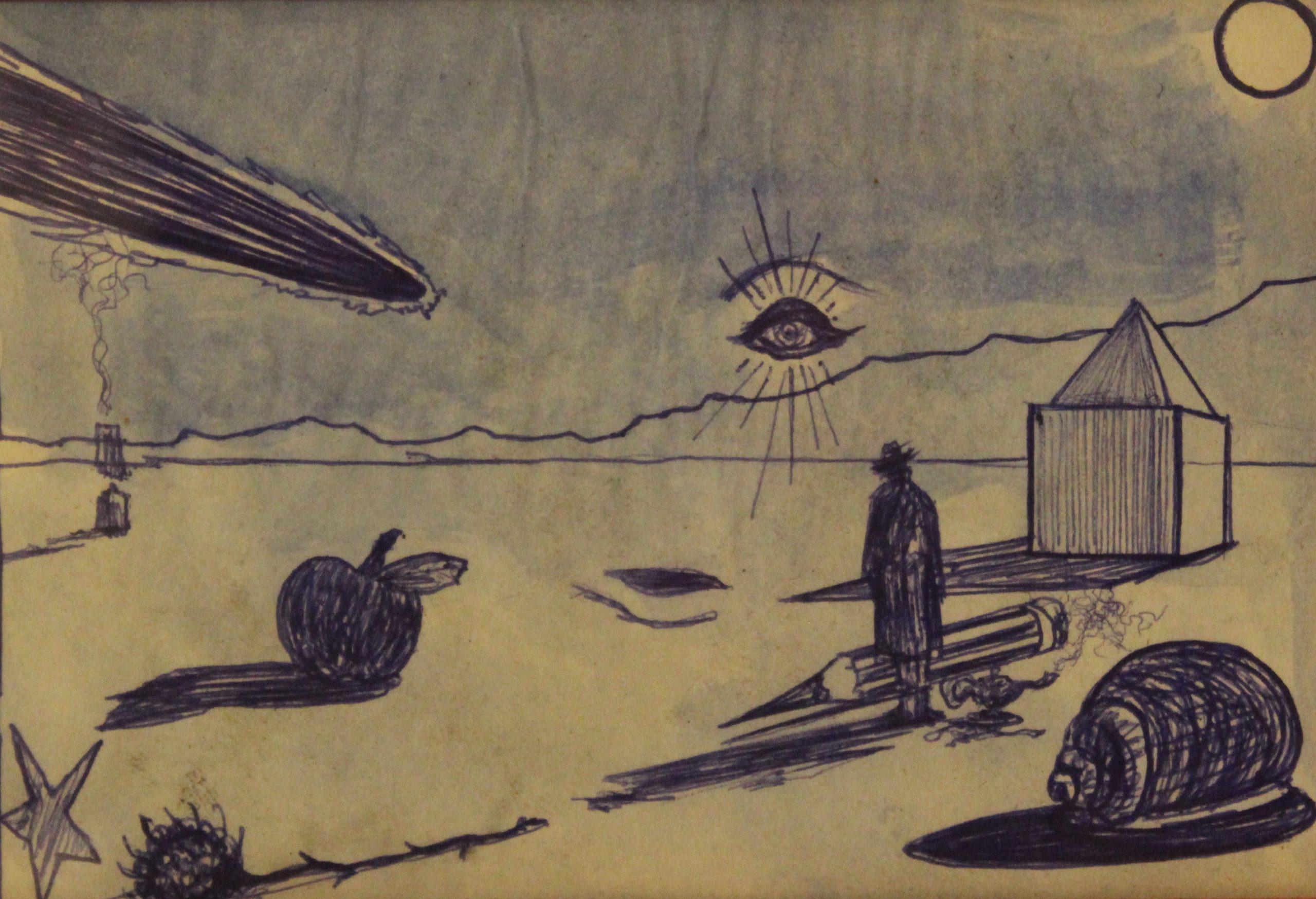 """""""Comparsa del Terz'occhio durante il passaggio di un meteorite"""""""