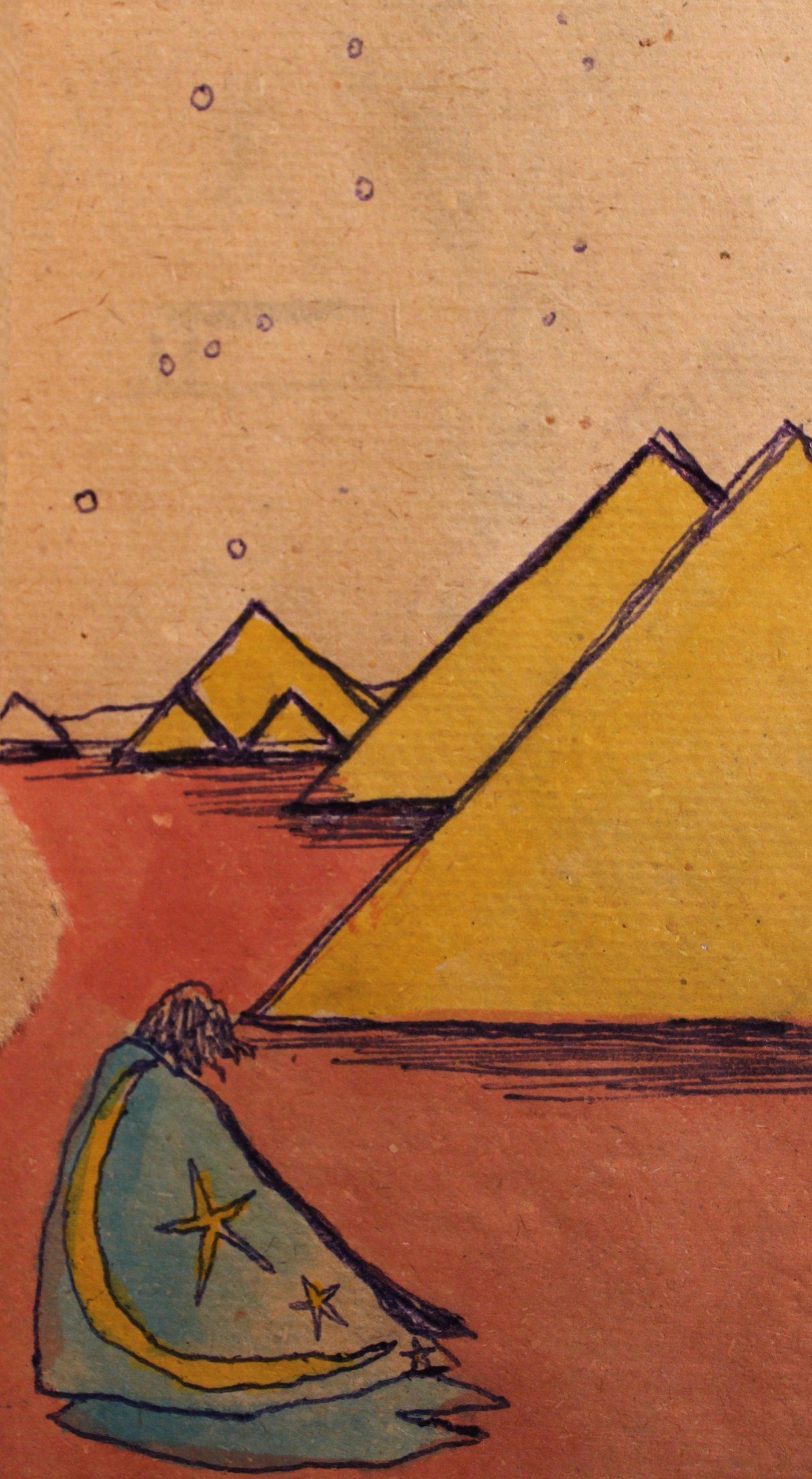 """""""Il Mago delle Sabbie in contemplazione verso la Costellazione di Orione"""""""