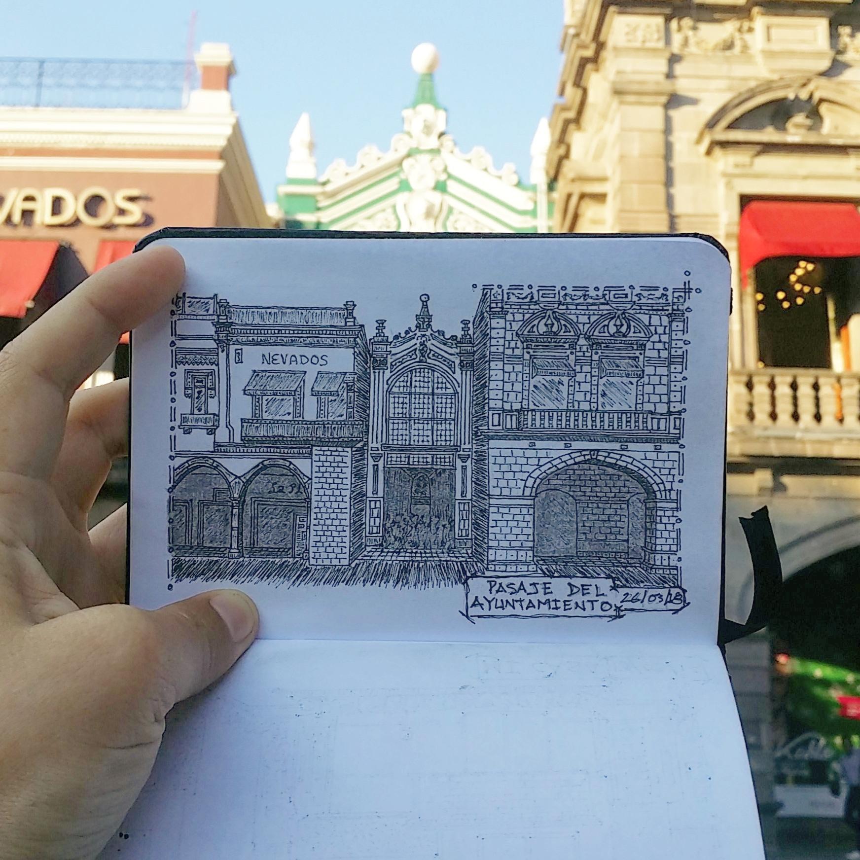 Antiguo Pasaje del Ayuntamiento de Puebla