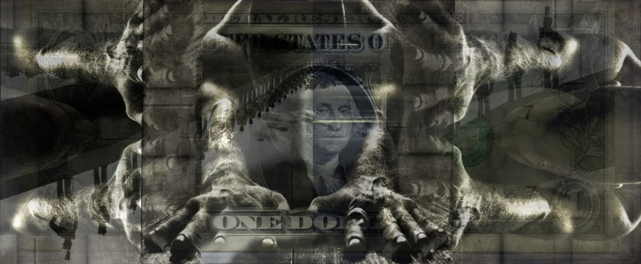 The face of power- what can't be washed- Dollar- {$M}