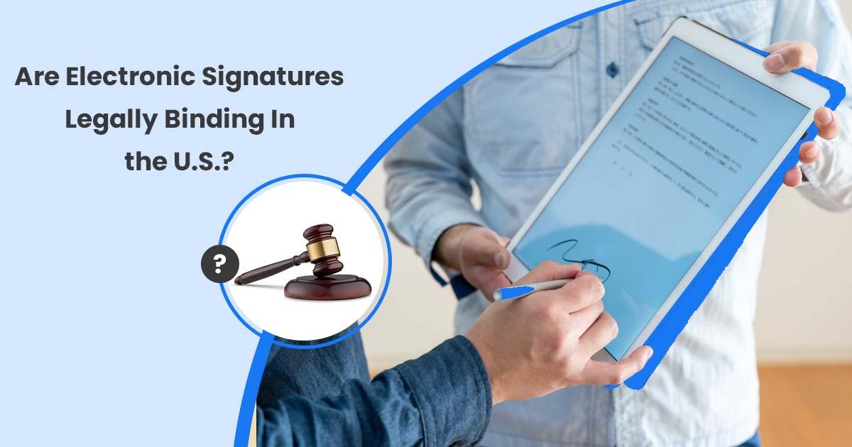 Electronic Signature Online on PDF
