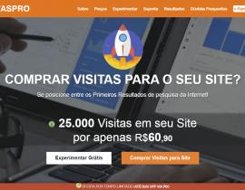 Comprar Visitas para Site utilizando o VisitasPRO