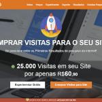 Tráfego: Visitas para Site utilizando a ferramenta VisitasPRO