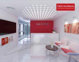 Thiết kế văn phòng A&B