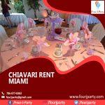 Chiavari Rent Miami