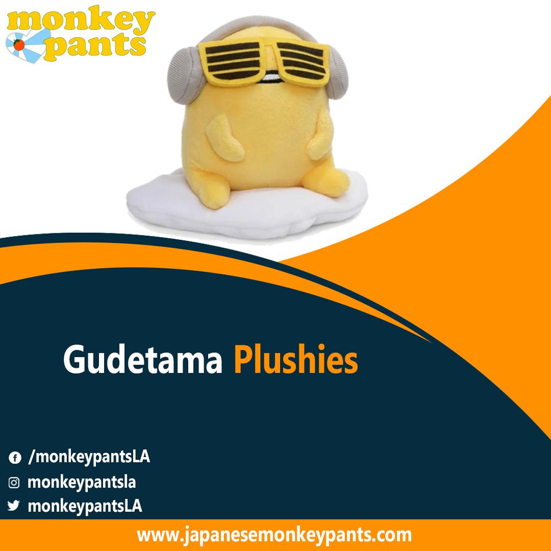 Gudetama Plushies