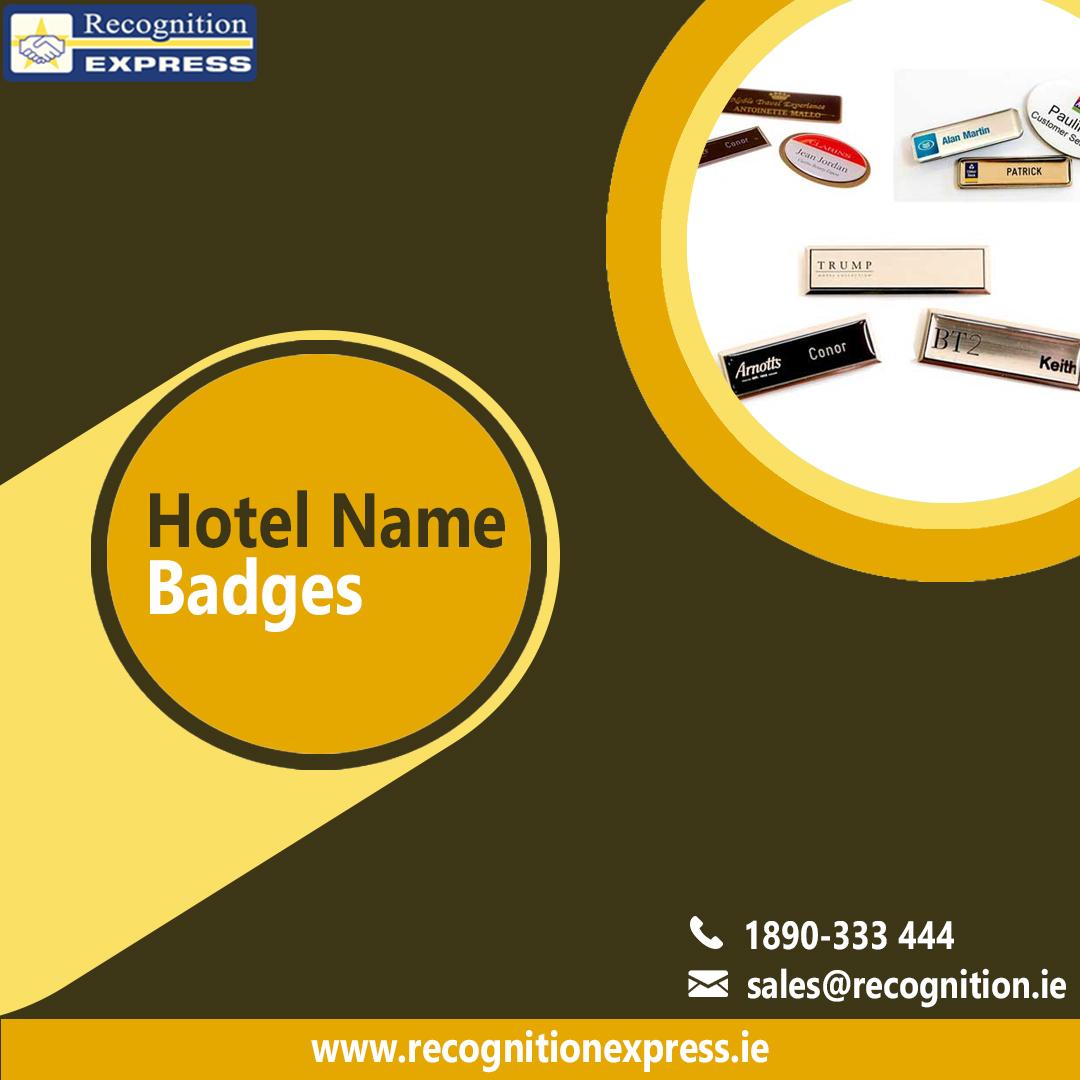 Hotel Name Badges
