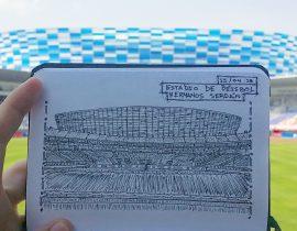 "Estadio de Béisbo ""Hermanos Serdán"""