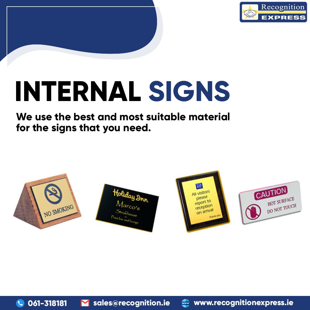 Internal Signs