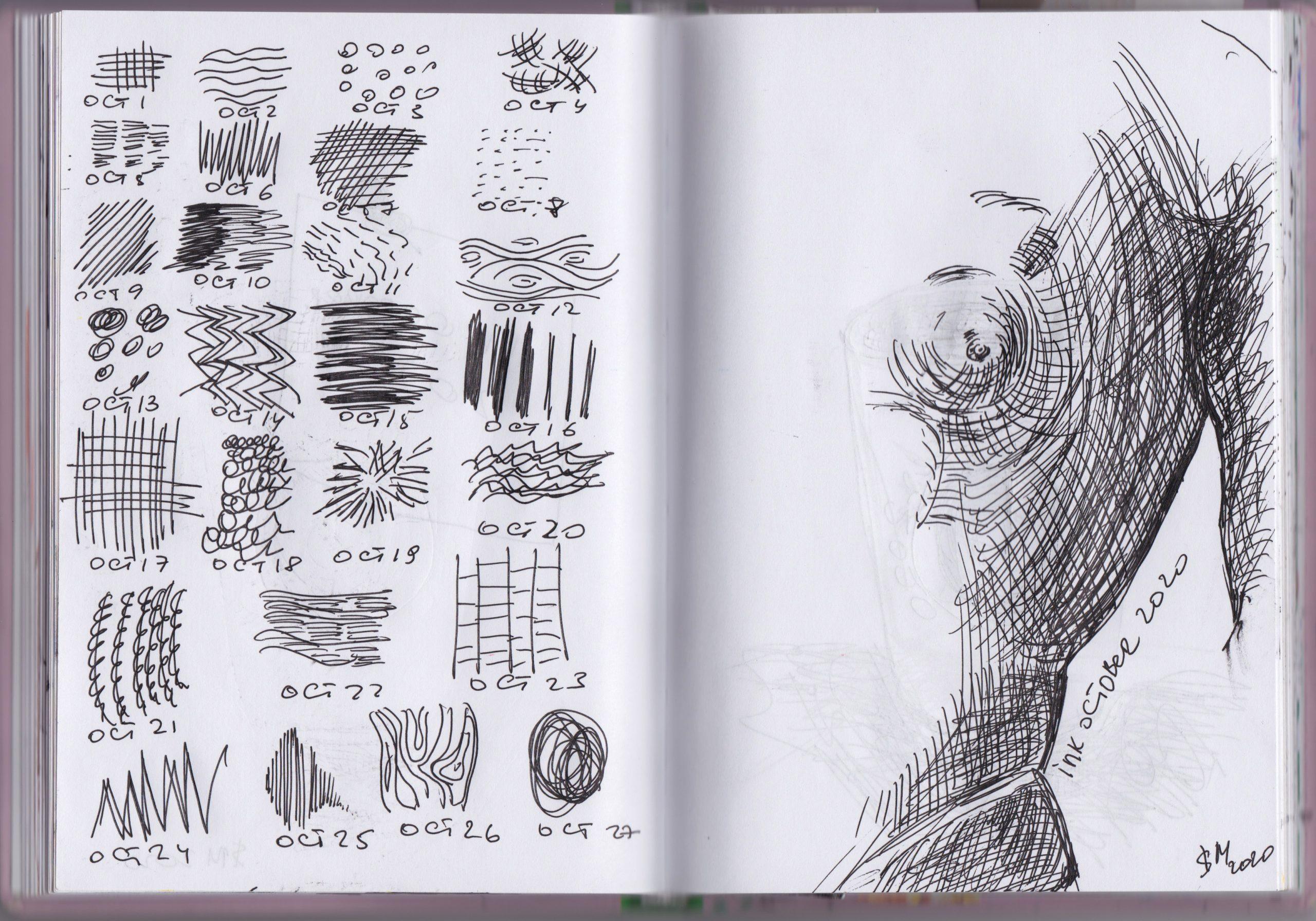 Art journal \ sketches  \ 10 way to Improve your sketchbook